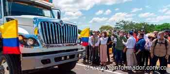 Presidente Duque pone en operación nuevo puente sobre el río Charte, una obra que potencia el comercio con los Llanos Orientales - elinformador.com.co