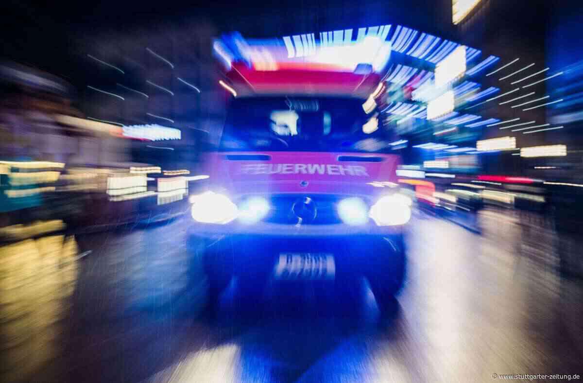 Bietigheim-Bissingen - 82-Jähriger drei Tage nach Brand gestorben - Stuttgarter Zeitung