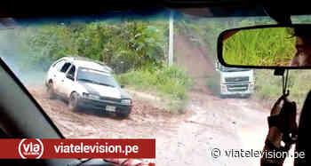 Deterioro de dos tramos en la carretera Tarapoto - Chazuta genera preocupación - viatelevision.pe