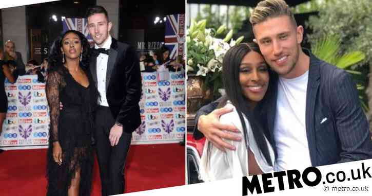 Alexandra Burke splits from boyfriend Angus MacDonald after 15 months and deletes Instagram photos