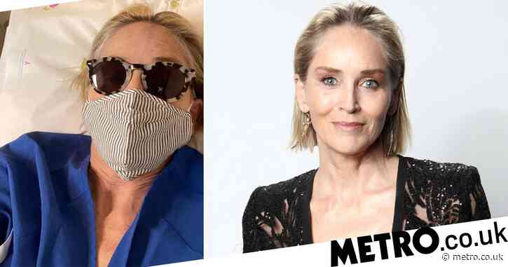 Sharon Stone shares snap from hospital as she gets mammogram as she urges others to follow suit