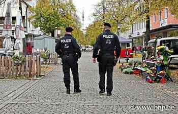 """Markt-Premiere im """"Lockdown"""": Die Polizei kontrolliert - Passauer Neue Presse"""
