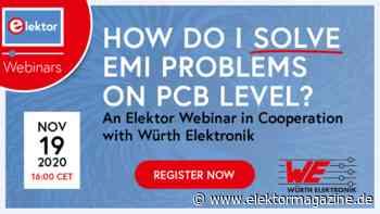 Webinar: How Do I Solve EMI Problems on the PCB Level? - Elektor