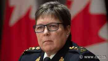 RCMP Commissioner Brenda Lucki defends conduct of Mounties in N.S. fishery dispute