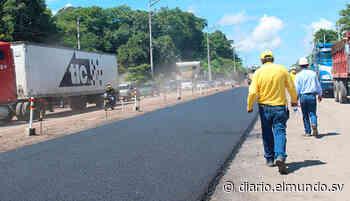 Inician obras de pavimentación del periférico Gerardo Barrios en San Miguel - Diario El Mundo