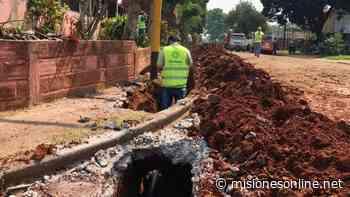 Finalizó la obra de extensión de red de agua en San Miguel en Posadas - Misiones OnLine