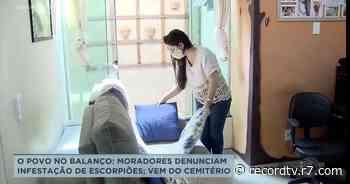 Moradores denunciam infestação de escorpiões em Guariba - Record TV