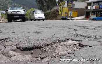 La repavimentación de tres avenidas en Los Chillos se iniciará en noviembre