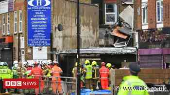 Southall: Two people killed in shop gas explosion
