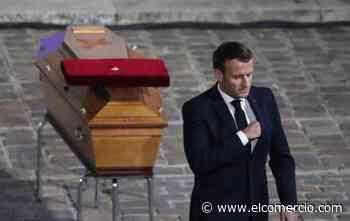 Emmanuel Macron: 'Francia no renunciará a las caricaturas'