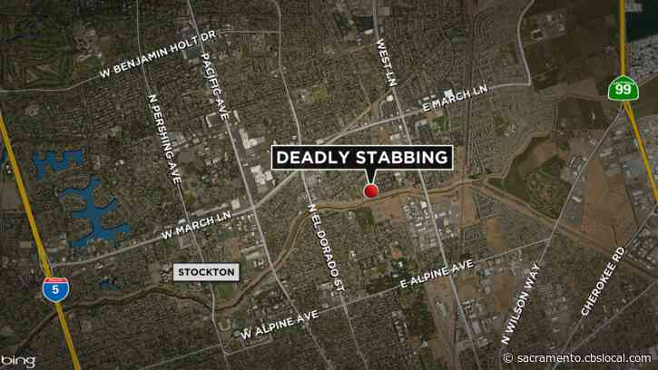 Man, 60, Dies After Stabbing In Stockton; Suspect Arrested