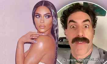 Borat sends Kim Kardashian hilarious 40th birthday Twitter message
