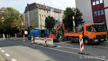 Energieversorgung Gera behebt Störung am Stadtgraben - Ostthüringer Zeitung