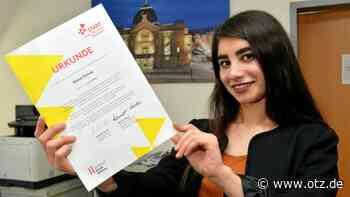 18-Jährige Geraerin erhält Stipendium für drei Jahre - Ostthüringer Zeitung