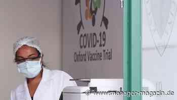 Versuche in Brasilien gehen weiter: Teilnehmer von Corona-Impfstoffstudie gestorben - manager magazin