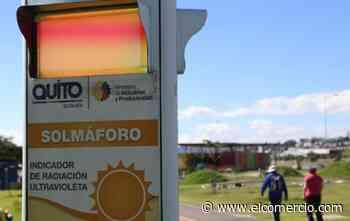 Quito registra niveles muy altos de rayos ultravioleta
