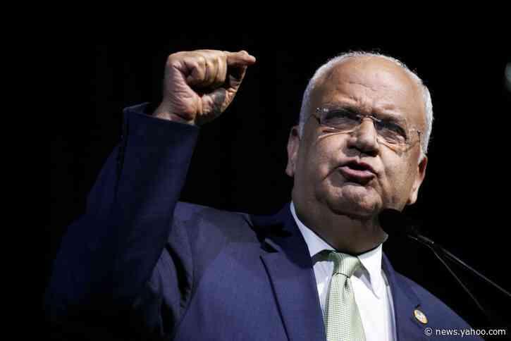 Palestinian official Erekat undergoes bronchostomy