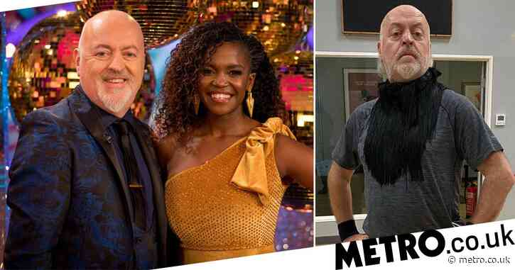 Strictly Come Dancing's Oti Mabuse trolls Bill Bailey during rehearsals