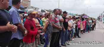 Alegría en Puerto Padre por la sede del 26 de julio - tiempo21.cu