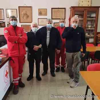 Don Tito e don Pietro lasciano Orbetello: saluto della Croce Rossa - Grosseto Notizie