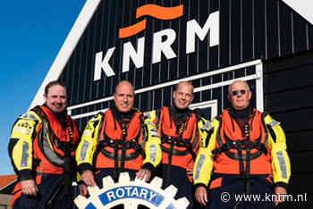 Actie Rotary Club Monnickendam voor overlevingspakken KNRM Marken - KNRM