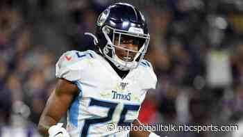 Adoree' Jackson back at practice for Titans