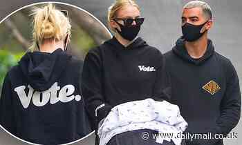 Joe Jonas and Sophie Turner take baby Willa for a walk in LA