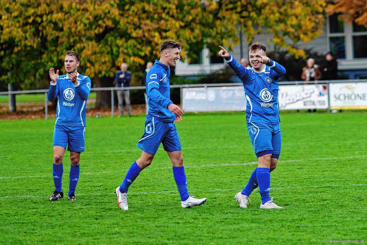 Fußball: Leon Hartel – in 120 Sekunden zum Matchwinner für den SC Markdorf - SÜDKURIER Online