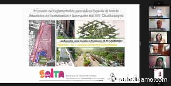 Presentaron el proyecto del Distrito Sustentable de Renovación Urbana Chachapoyas - https://radiodinamo.com/