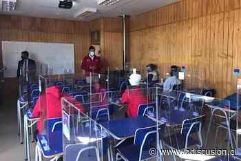 97 estudiantes del Liceo de San Nicolás retornan a clases presenciales - La Discusión