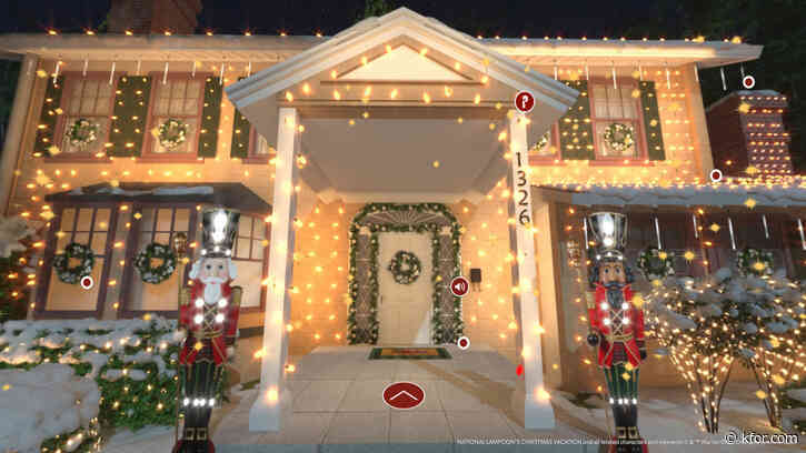 'Hap-hap-happiest Christmas': Sam's Club offers virtual shopping experience in 'Griswold House'