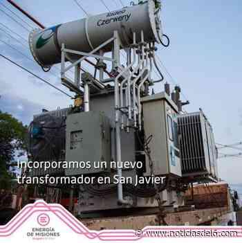 ▷ Energía de Misiones incorporó nuevo transformador en San Javier - noticiasdel6.com - Noticiasdel6.com