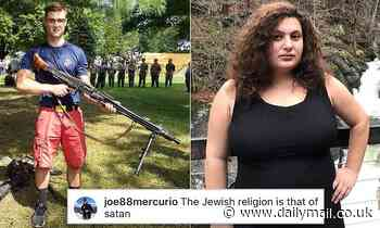 Marine posted neo-Nazi propaganda and told a Jewish journalist her religion was 'that of Satan' - Daily Mail