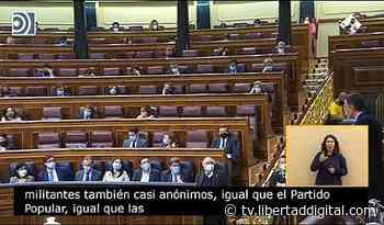 """Sánchez afirma que el PSOE derrotó a ETA y Jiménez Becerril le grita """"¡mentira!"""" - Libertad Digital TV"""