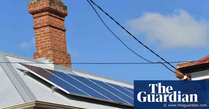 Rooftop solar and Covid shutdown lead to record lows in Australian electricity use