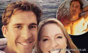 Rebecca Gibney praises actor Hugh Sheridan for 'speaking his truth' after heartfelt coming out essay