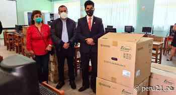 Cajamarca: entregan 64 equipos informáticos al emblemático colegio San Juan de Chota - Diario Perú21
