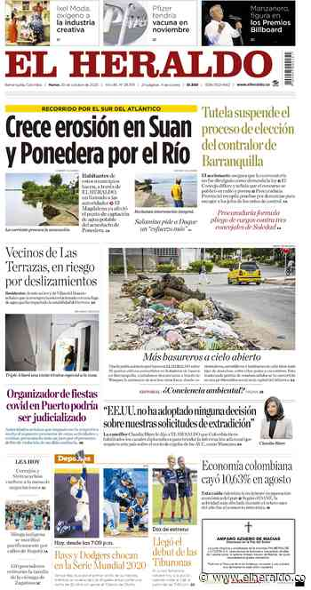 Crece erosión en Suan y Ponedera por el Río - El Heraldo (Colombia)