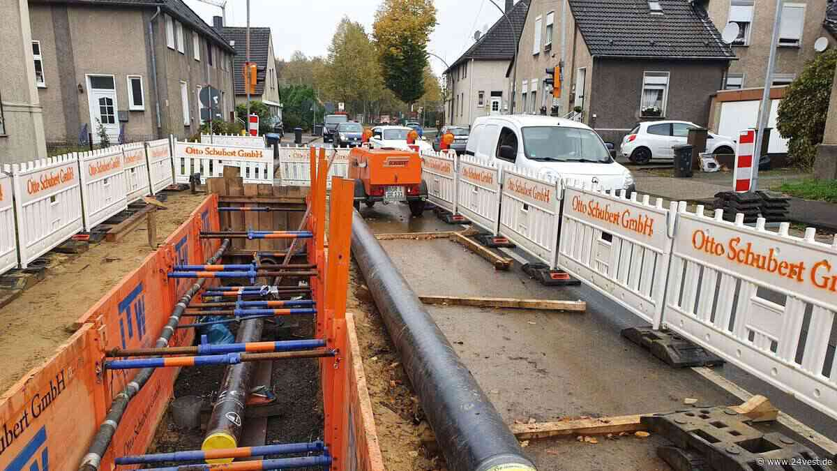 Gelsenwasser saniert Leitungen in Oer-Erkenschwick - 24VEST