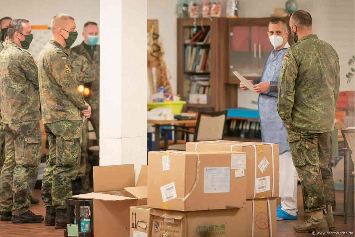 Soldaten treten in Freital Zivildienst an - Sächsische Zeitung
