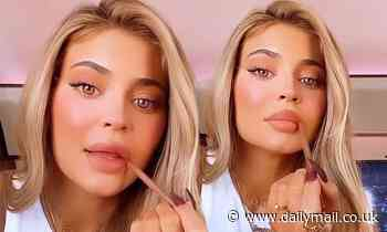 Kylie Jenner gets seal of approval for new lip kit as daughter Stormi coos: 'That looks good Mommy!'