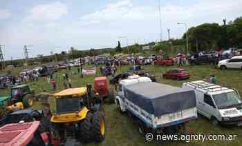 Masiva convocatoria de productores y fuerte presencia policial en el reclamo por la toma del campo de Etchevehere - Agrofy News