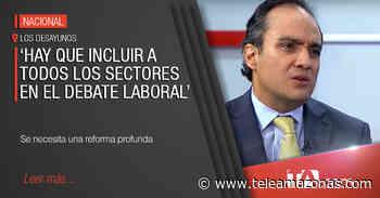 Oswaldo Landázuri analiza las cifras de desempleo presentadas por el gobierno - Teleamazonas