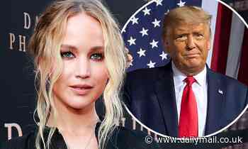 Jennifer Lawrence admits she used to be 'a little Republican' as she condemns President Donald Trump