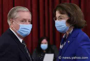 Senate Democrats will boycott Amy Coney Barrett's Supreme Court confirmation hearing vote as GOP vows to move forward
