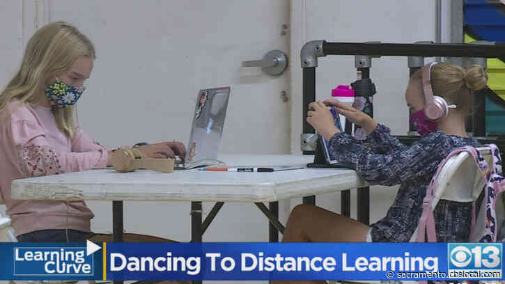 In A Leap Of Faith, Davis Dance Studio Turns To Distance Learning