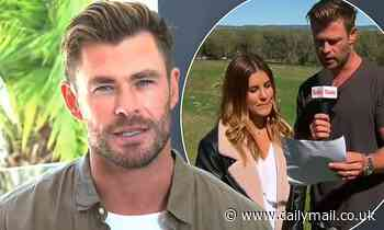 Chris Hemsworth considers a job on the Today Show if 'acting doesn't pan out'