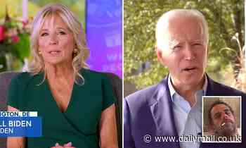 Jill Biden claims that people 'don't care' about Hunter Biden email controversy