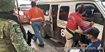 Operativos de salud en Jojutla para bajar índice de contagios - La Jornada Morelos