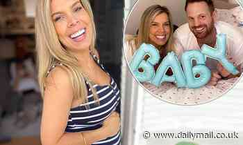 Married At First Sight: Carly Bowyer flaunts her blossoming baby bump